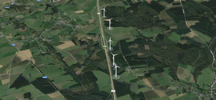 Un nouveau projet éolien à Léglise et Neufchâteau